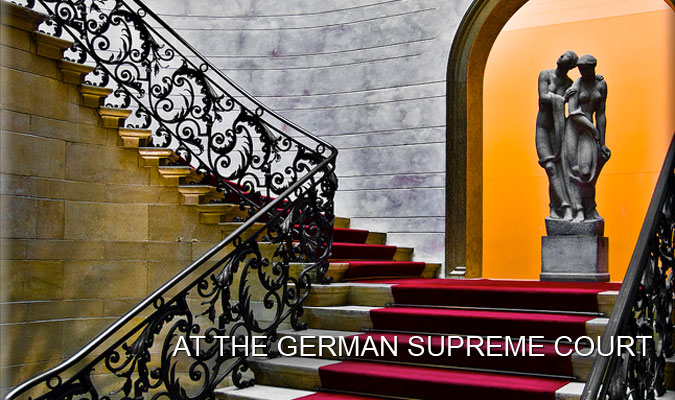 At the German Supreme Court